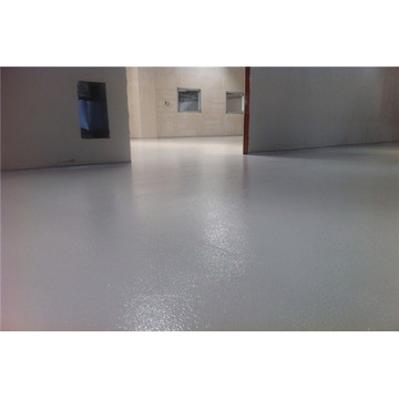 Orange peel texture effect epoxy floor paint