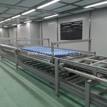 Automatic Gravity Roller Conveyor System Assembly Line