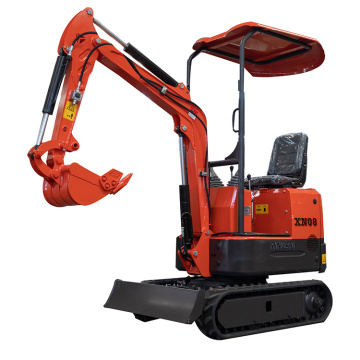 0.8ton XN08 mini excavator for small work
