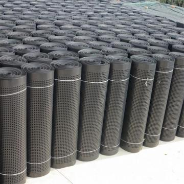 HDPE waterproofing drainage sheet for roof garden