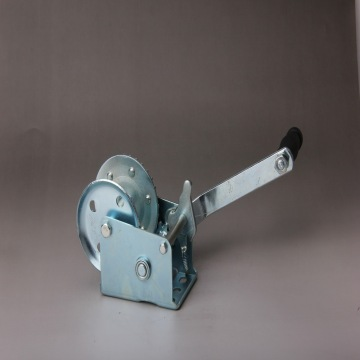 1600LBS Wire Rope Hand Anchor Winch