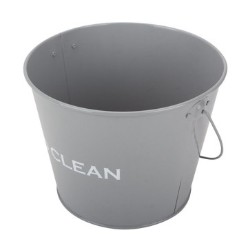 Round Metal Galvanized Bucket Water Bucket with Handle