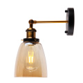 Vintage Glass wall lights indoor modern lamp
