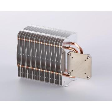 LED Lamp Heatsink ka Copper Sintered Heat Pipes