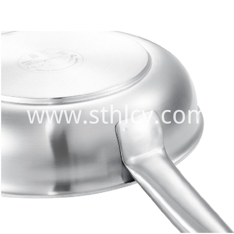 2019 New Stainless Steel Pan