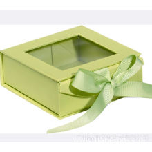 Custon High Quality Collapsible Box with Clear Window