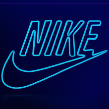 SPORTS MEREK NEON SIGN LOGO