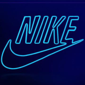 LOGO DE MARQUE SPORTS NEON SIGN