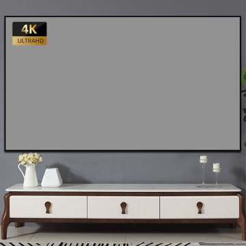 60 Inch Wall Mounted Projection Screen 16:9 Ratio Anti-light Portable Cinematic Projection Film
