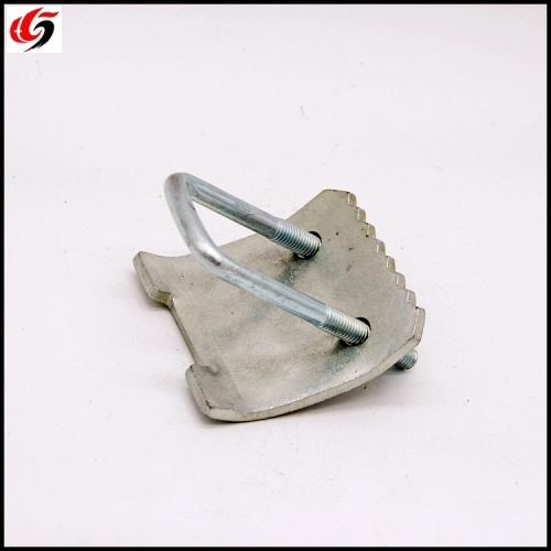 Electro Galvanized Strut U Bolt Beam Clamp with Hook
