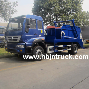 Sinotruk 266 hp Swing Arm Garbage Truck