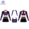 3 Piece Cheer Crop Top Outfits