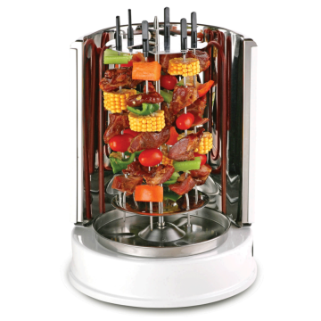 Electric vertical barbecue home