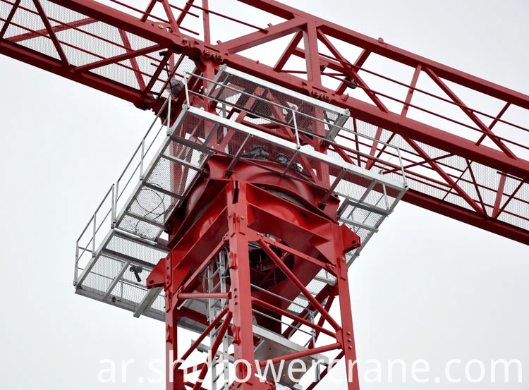 The cheapest topless tower crane made