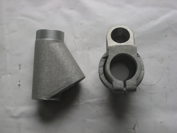 Steel alloy investment casting