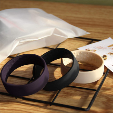 Custom Silicone Hair Tie Foldable Hair Ring