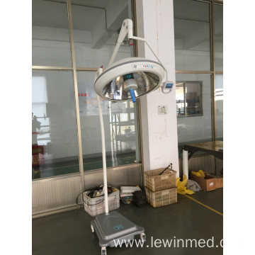 Mobile halogen examination lamp