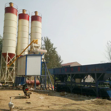 Patent central control stationary concrete batching plant