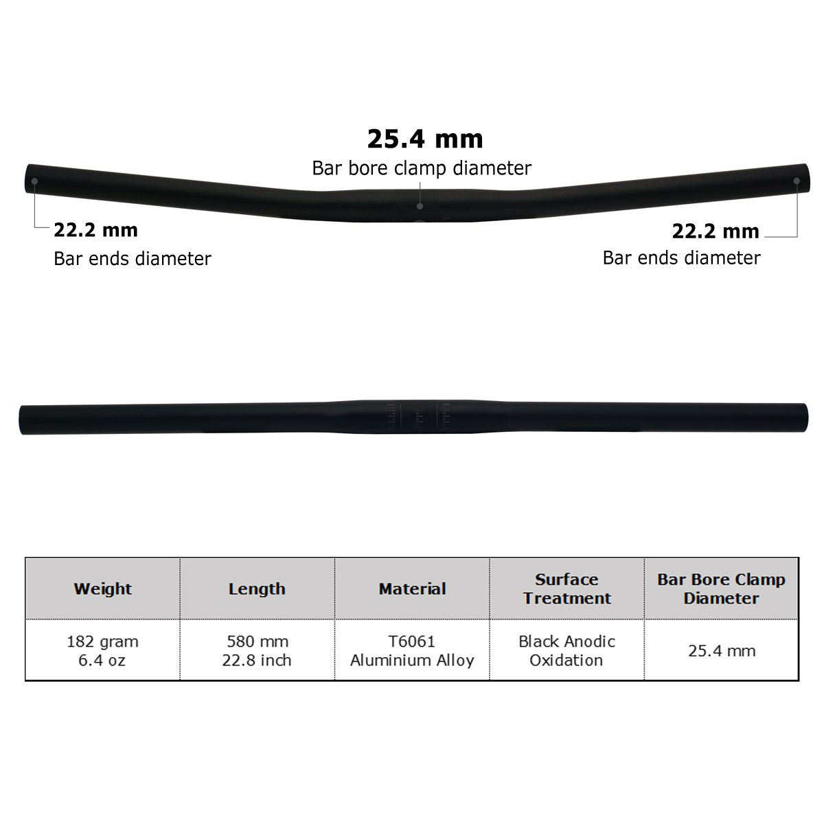 Bicycle Handlebar Aluminium Alloy
