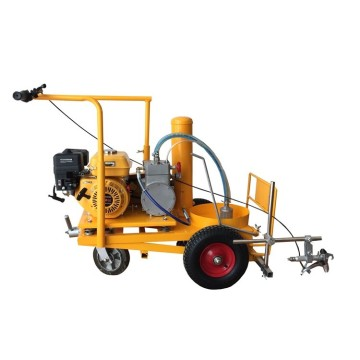 cold paint airless spray road marking machine