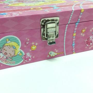 Paper portable locker drawer item storage box