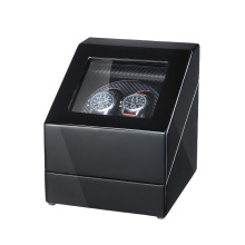 Black Finish Carbon Fiber Watch Winder