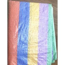 stripe PE tarpaulin multiple colors