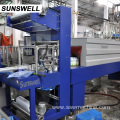 Heating PE Film Wrapper Bottle Shrink Wrapping Machine