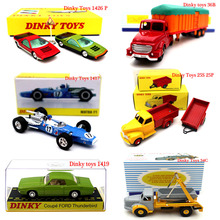 Atlas Dinky Toys Series Truck Engineering Vehicle Racing Car Fire truck Diecast Models Collection Gifts