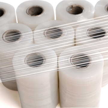 Top kvalitet lldpe transparent mini roll strech-film