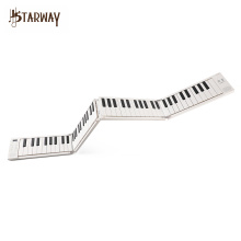 starway Foldable Digital Portable Electronic Keyboard Piano 88 keys for Student Musical Instrument