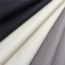 Free Sample Lichee PU Synthetic Leather for Package