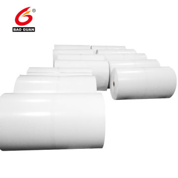Single side PE silicone coated white release paper