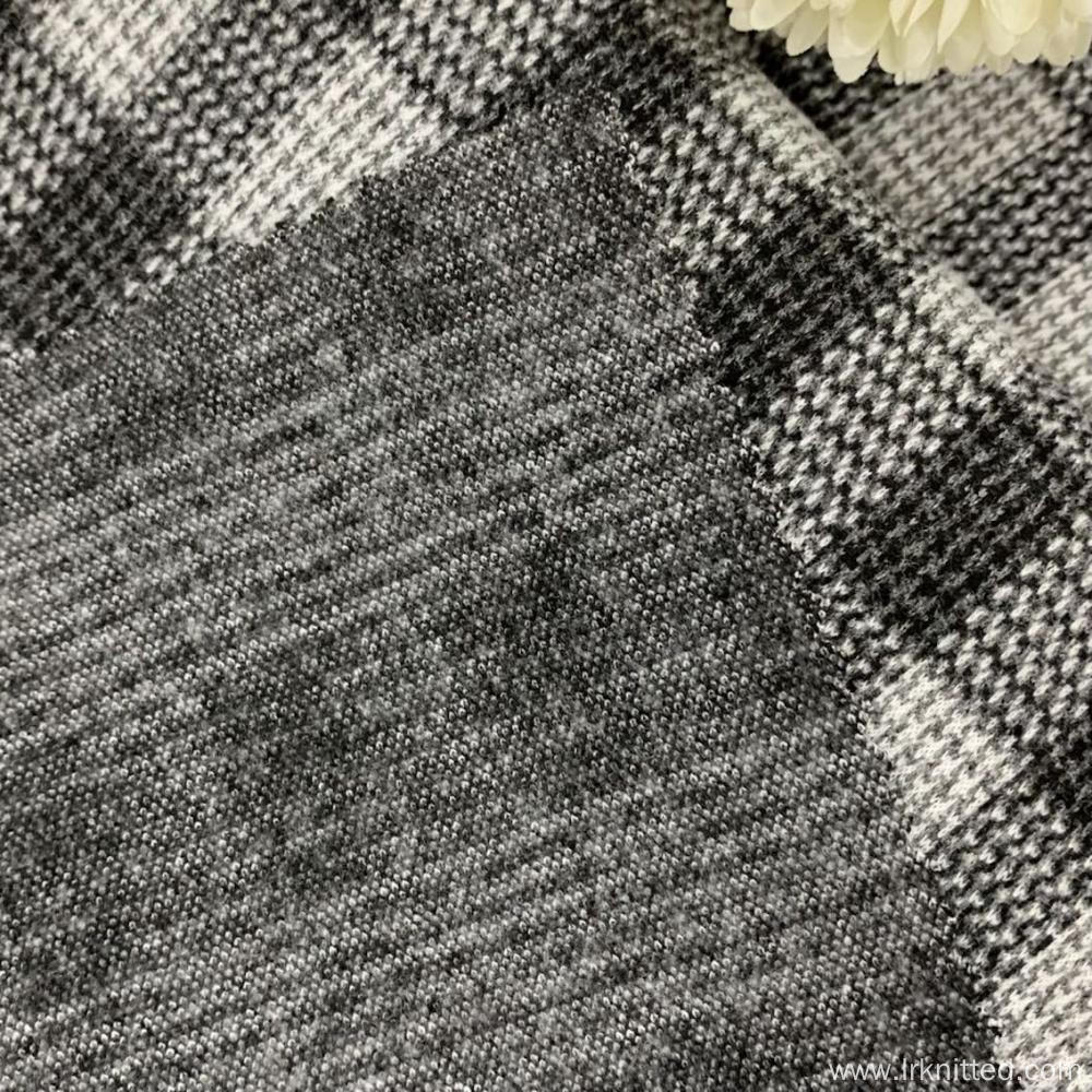Factory-Customized Checked Terry Fabrics