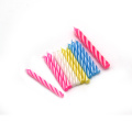 Wholesale Spiral Happy Birthday Cake Stick Candle