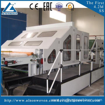 ISO9001 Certification ALSL-2500 carding machine for cotton cading machine for geotixile