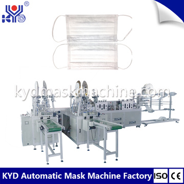 High speed outer earloop face mask machine