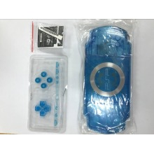 Clear Crystal Color Full set Housing Shell Cover Case Replacement for PSP2000 PSP 2000 Game Console with Buttons Set
