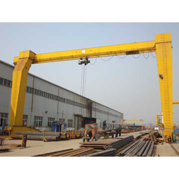 Single beam electric hoist gantry crane 20 ton