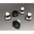 6PCS Take-up drive pulley With rubber ring for cassette deck audio tape record player