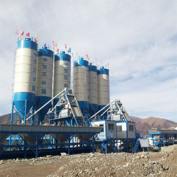 Ready mixed small concrete batching plant machine automation