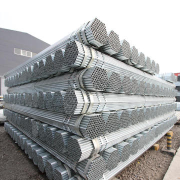 2.5 inch 10 foot galvanized pipe