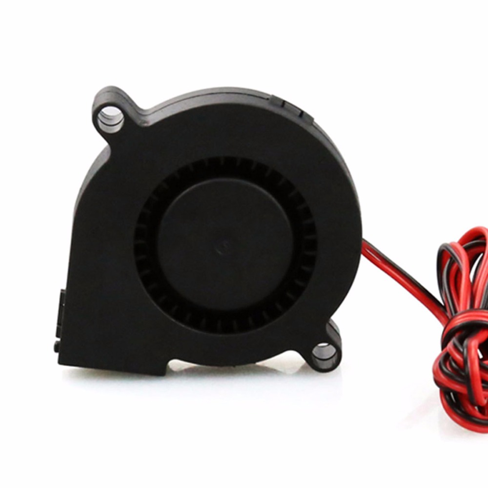 1Pc Black Computer Accessories 24V Brushless DC Cooling Turbine Blower Fan 5015 50*62*15mm Durable New
