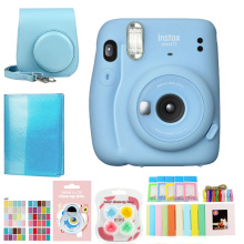 Original Fujifilm Fuji Instax Mini 11 Instant Film Photo Camera ,20 Sheets Fujifilm Instax Mini 8/9 Films
