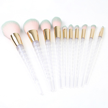Fashional Set de 10 pinceaux de maquillage