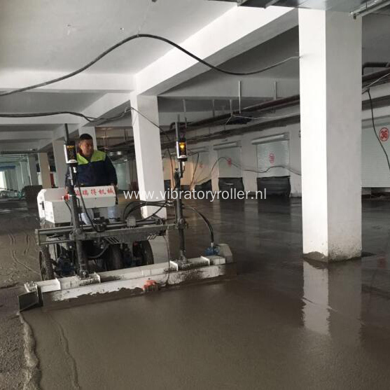 Concrete Vibrating Floor Laser Screed For Big Construction