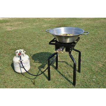 Outdoor Single Burner Stove with Adjustable Legs