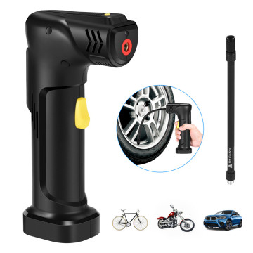 Cordless Car Pump with Rechargeable Li-ion Battery