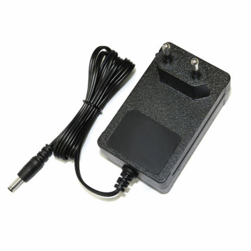 12.6V 1.5A EU 2Pin Plug Lithium Battery Charger