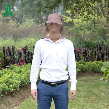 Camping Face Protector Mosquito Insect Hat